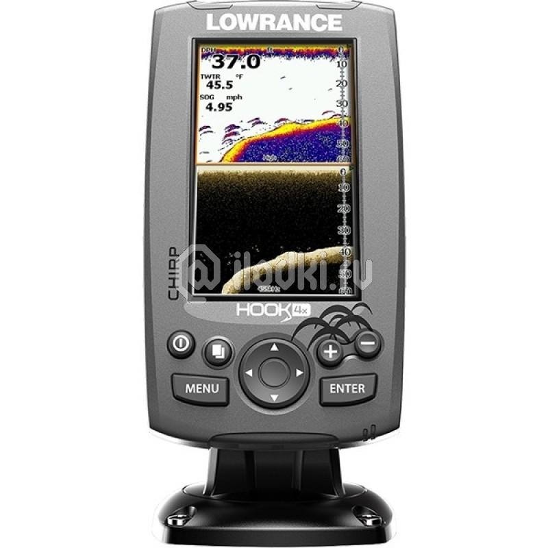 фото: Эхолот Lowrance Hook-4x Mid/High/DownScan™